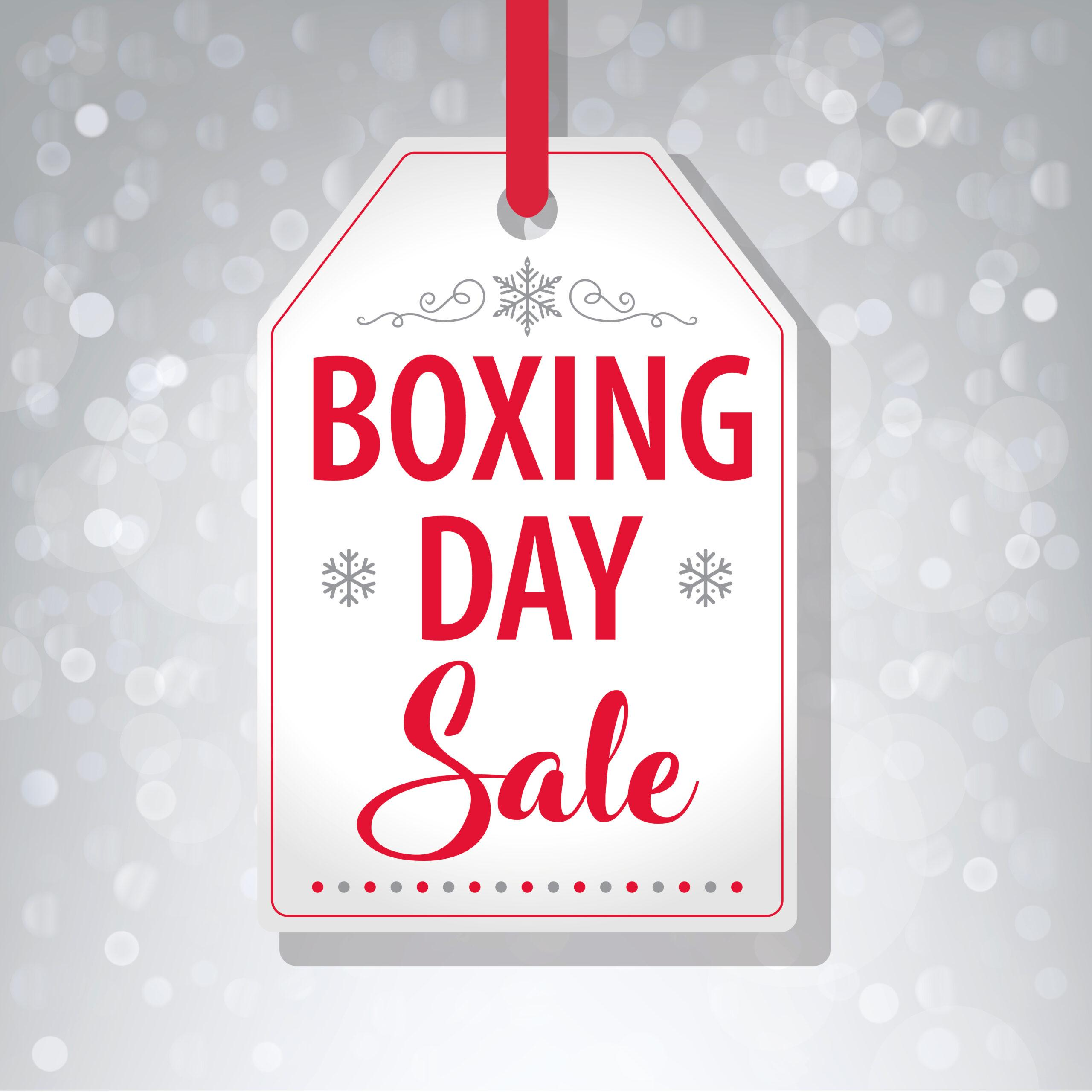 Boxing Day Sales: Prices And Footfall Drops