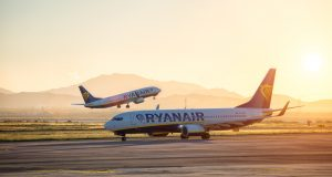 Ryanair passenger volumes up 8%
