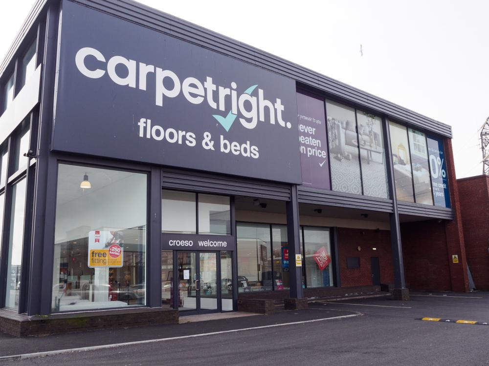 Carpetright Posts Narrower Loss In Full Year Results