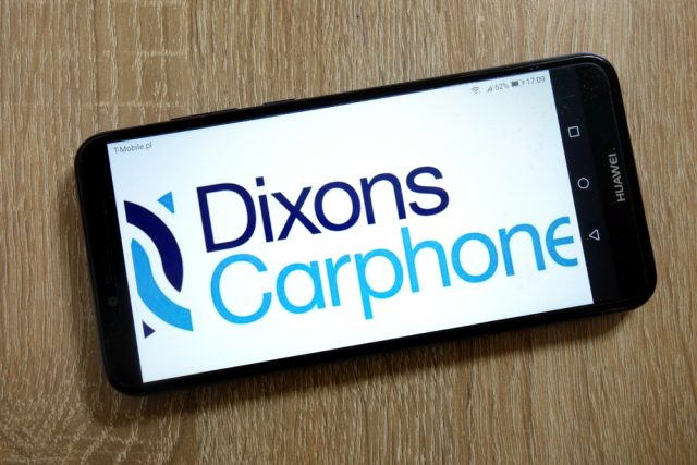Dixons Carphone mobile sales down, full year guidance unchanged
