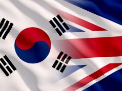 UK and South Korea