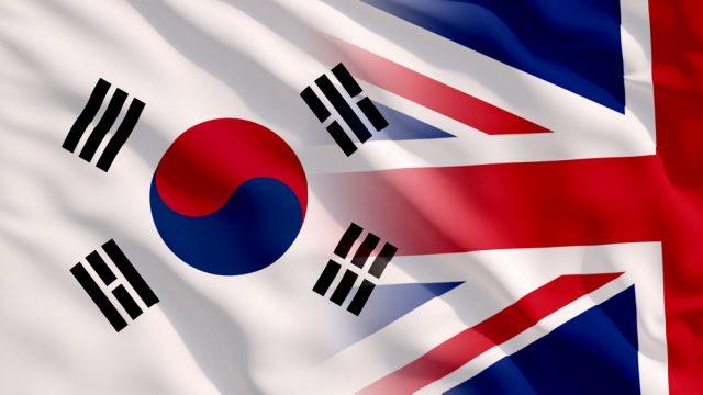 UK and South Korea