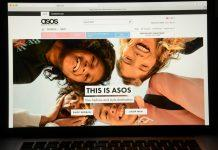 asos screen