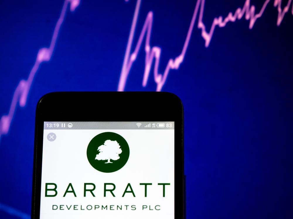 barratt developments shares