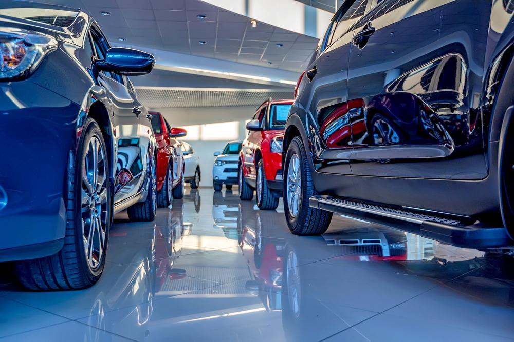 car sales showroom
