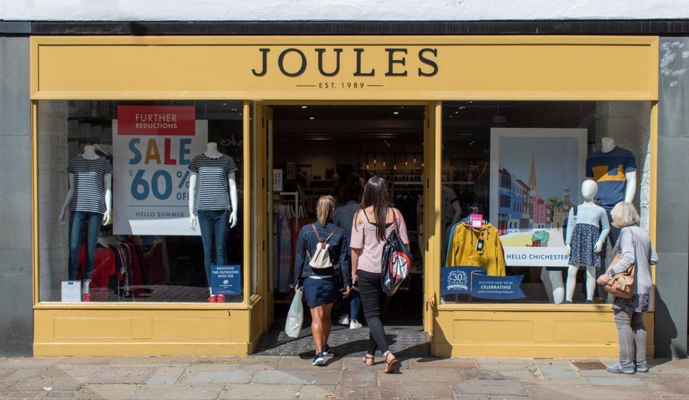 joules shop front