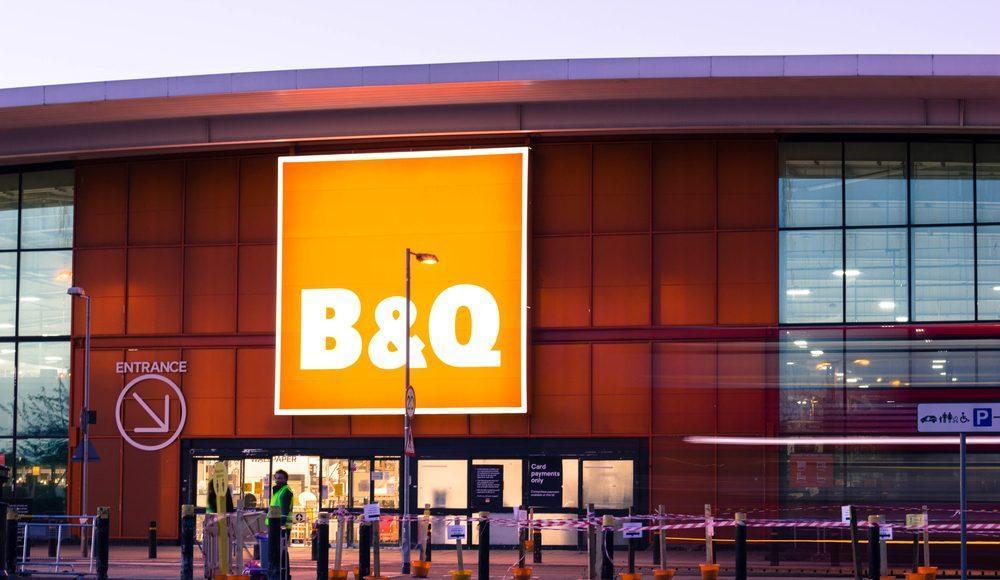 kingfisher b&q shop front