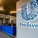 Rotterdam,,Netherlands,,09-10-2019,The,Blue,Unilever,Sign,Next,To,The